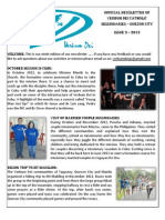 official newsletter of verbum dei quezon city no 9