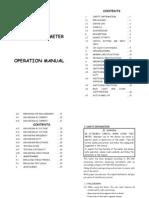 MS2108A English Manual