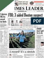 Times Leader 05-02-2013
