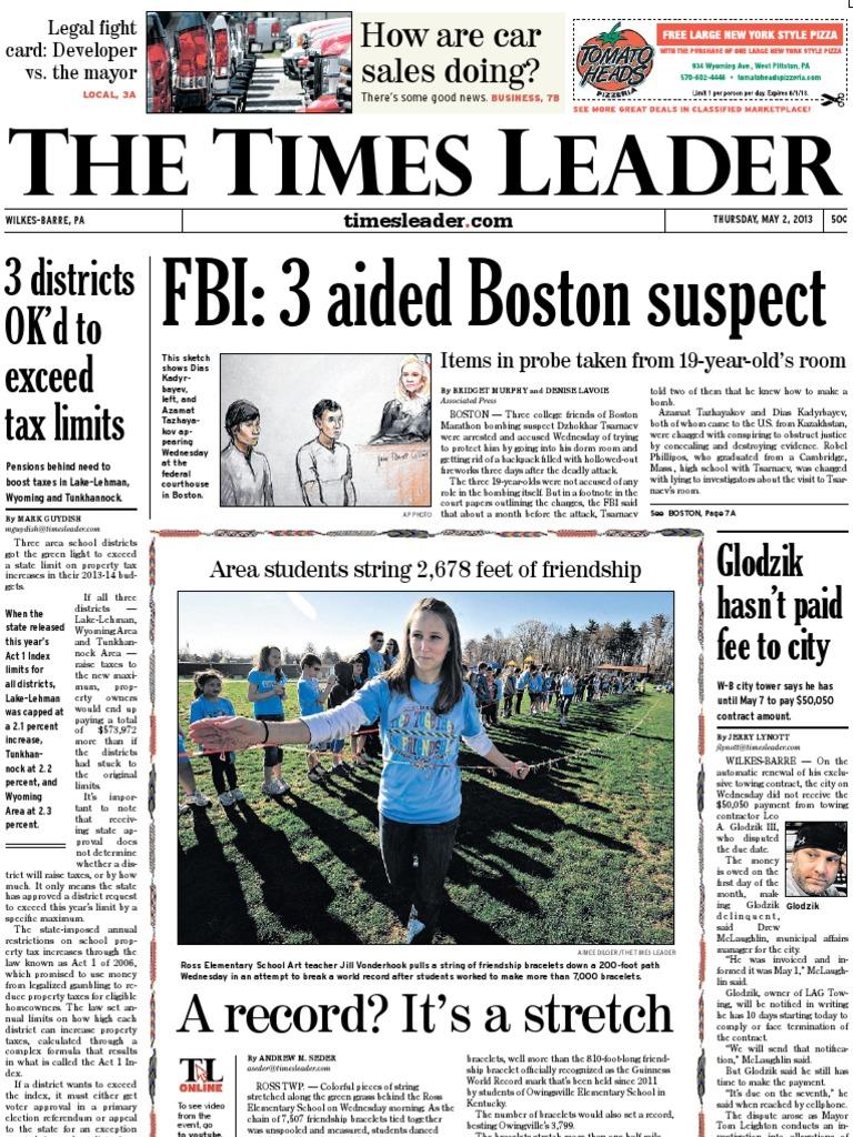 31741decdd3 Times Leader 05-02-2013