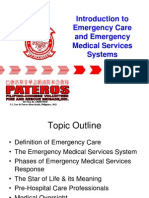 Introduction to Emergency Care