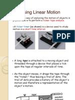 HELMI Analysing Linear Motion
