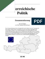 Österreichische Politik und EU_Zusammenfassung