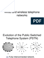 Wired and Wireless Telephony Week3