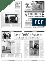 Versión impresa del periódico El mexiquense 2 mayo 2013