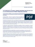 LAS AGENCIAS DE COLDWELL BANKER PREVIEWS® MULTIPLICAN POR 2 LA FACTURACIÓN EN SU PRIMER TRIMESTRE EN ESPAÑA