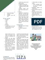 Leaflet ISPA (Infeksi Saluran Pernapasan Akut)