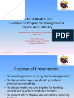 Guidance on Programme Mgmt - Physical Accountability_170610