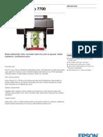 Epson Pro 7700 Plotter Dijital Baski Makinasi  - GenisFormat.com