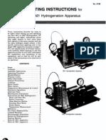 Parr.hydrogenation.apparatus.manual