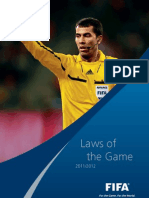 Laws of the game 2011-12