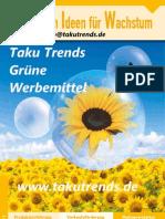 Grüne Werbeartikel 2013(D)MO