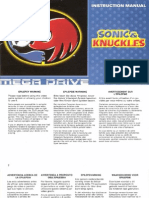Booklet Ita Sonic 4 Md