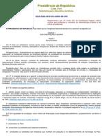Lei n.º 8666 - Normas para Licitação e Contratos da Adminitração Pública