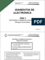 Tema 3 - Sistemas Combinacionales II