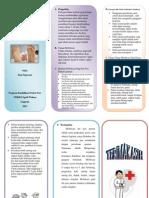Leaflet Mobilisasi post partum
