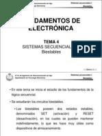 Tema 4 - Sistemas Secuenciales I