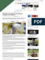 Ouverture d'une enquête sur des prothèses articulaires non conformes
