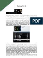FIFA 13 tácticas