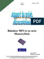 Baladeur MP3 Et MemoryStick
