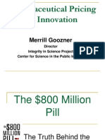 Big Pharma Pricing and Innovation