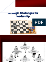 Strategic Challanges for Leadership