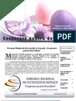 Buletin informativ al lunii aprilie