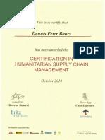 2010 10 LLA CILT Certificate