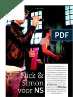 Nick & Simon voor NS