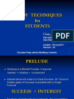 Study Techniques for Students