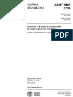 NBR 5739 - 2007 - Concreto - Ensaio de Compressao de Corpos-De-prova Cilindricos