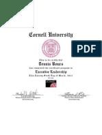 2011 03 Cornell - Executive Leadership - LSMC04X_Certificate