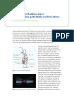 Xtra Online Platelet Distribution Curves