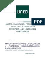 TAREA Nº 4 MARCO TEORICO EDUCOMUNICACION