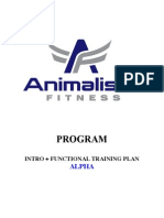 Functional Training Plan A