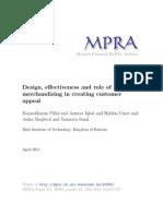 MPRA Paper 30365