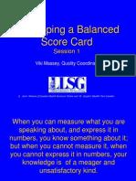 Scor Card
