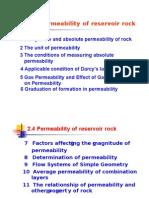 Rock Permeability