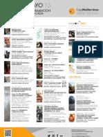 Obra Social-Murcia. Programación destacada. Mayo 2013