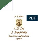 El Ole, Madrilena Op.89