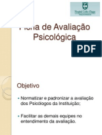 Ficha de Avaliação Psicológica