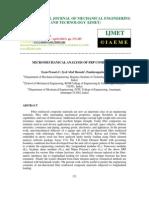 Micromechanical Analysis of Frp Composites-2
