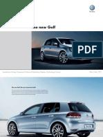 Golf VI UK Brochure - VW Golf Mk6