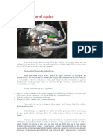 Cómo regular el equipo de gas TA 98 104 HP