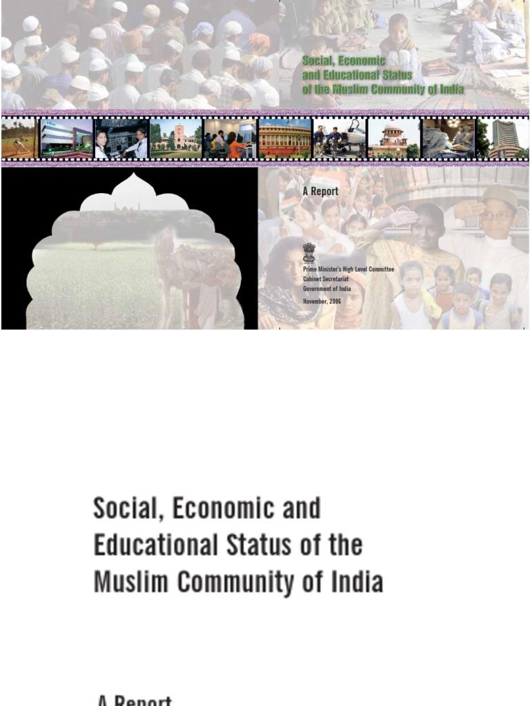 sachar committee report 1978