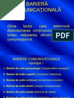 BARIERE COMUNICA-Č-şIONALE
