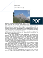 Bentuklahan Asal Proses Vulkanisme
