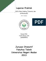 Laporan Rem, Kopling,Transmisi Dan Differensial_Taufik Ikhsan, S.pd