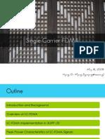 Single Carrier FDMA