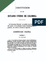 Estudios Constitucionales Sobre Los Gobiernos de La America Latina (EE.UU. de Colombia)